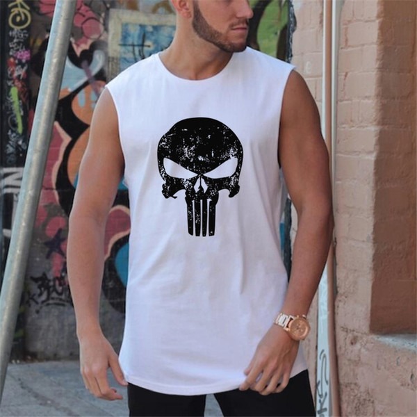Summer Mens Stringer Tank Top Brand Fitness Men Bodybuilding Male Singlets Shirts Clothes Muscle Vest Sleeveless Tanktop #158021