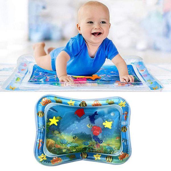 Cuscino gonfiabile per acqua Miglior giocattolo per bambini Tappetini per la casa Seduta Infantile Tempo tummy Fun Stuoie da gioco per bambini Estate 6 stili C6854