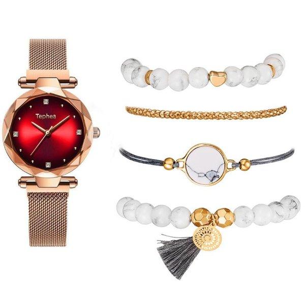 rouge-bracelet en or