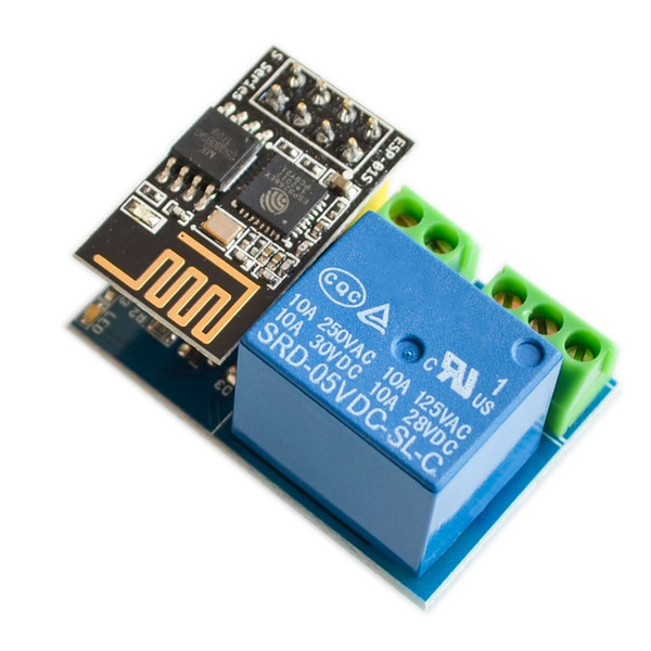 Envío gratuito 10 unids ESP8266 5 V módulo de relé WiFi Cosas inteligente de control remoto para el hogar teléfono interruptor ESP ESP-01S módulo de relé