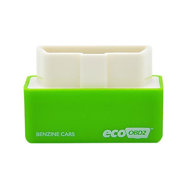 Carro Mini Caixa De Chip Tuning Economia OBD2 Verde Dispositivo De Otimização De Combustível De Energia OBD2 Interface de 15% De Combustível Salvar Para
