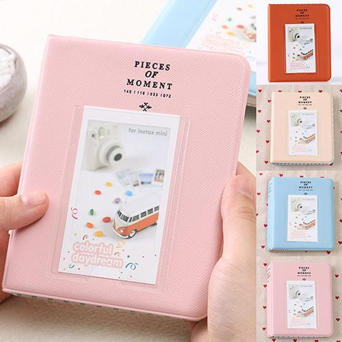 64 Pockets Mini Family Photo Album Gallery for Polaroid Instant Camera Photo
