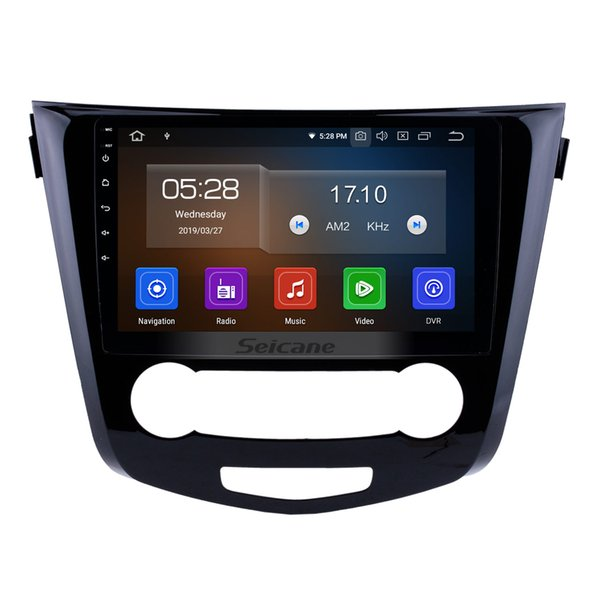 10.1 inch Android 9.0 Car Radio for 2014-2016 Nissan Qashqai with Bluetooth GPS Navi AUX WIFI support car dvd 3G/4G Steering Wheel Control