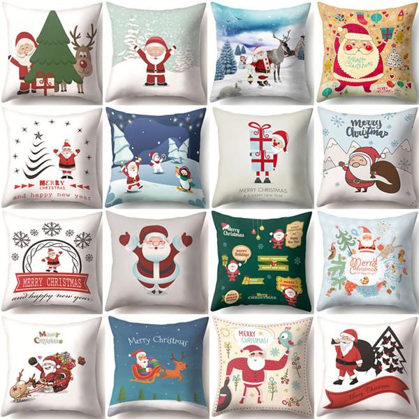 solid glass balls decorative.htm santa claus christmas decorative pillows polyester cushion cover  santa claus christmas decorative