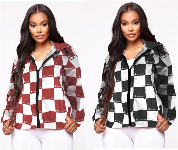 womens designer jacket coat panelled Blouses Shirt print autumn long Sleeve t-shirts Fashion tops high quality women clothing klw2416
