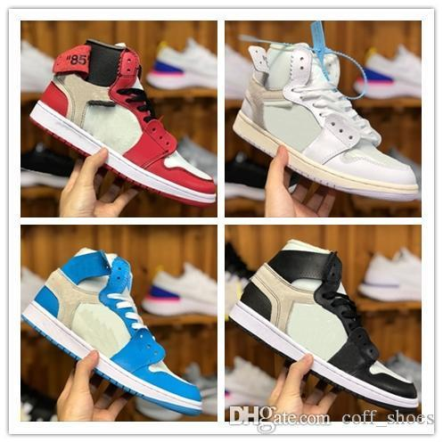 New Release 1s NRG No L's Not For Resale Rookie of the Year Men Women Basketball Shoes Sneakers 1 Sport Designer Trainer 4-5