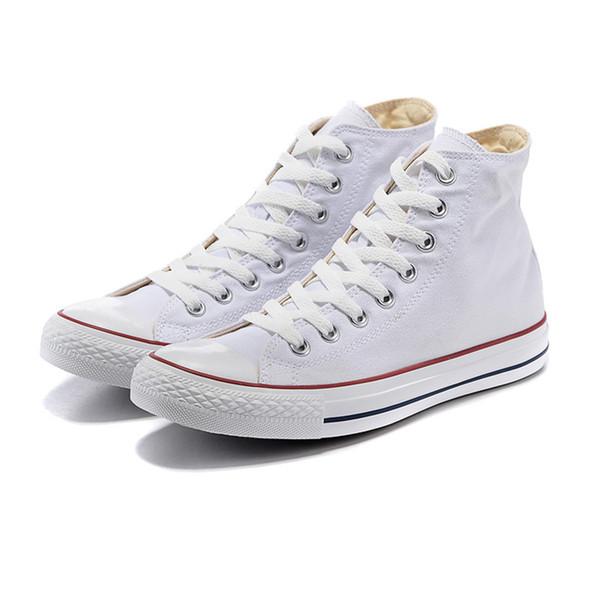 Original 2019 Casual shoes women men Triple white red black blue stripe platform canvas walking skateboard Sneakers shoe size 36-44 C06