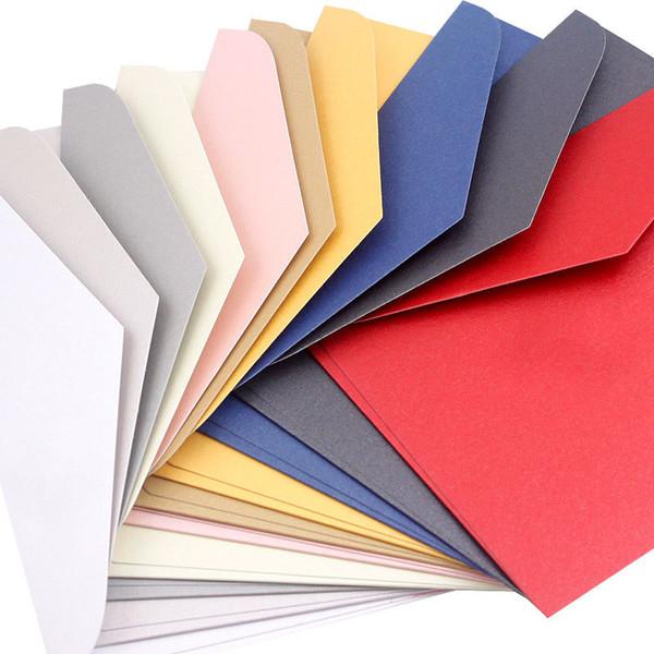 17.6 * 12.5 см 10 шт./компл. B6 письмо писчая бумага конверты для приглашения приветствие красный конверт Перл бумага для визитных карточек