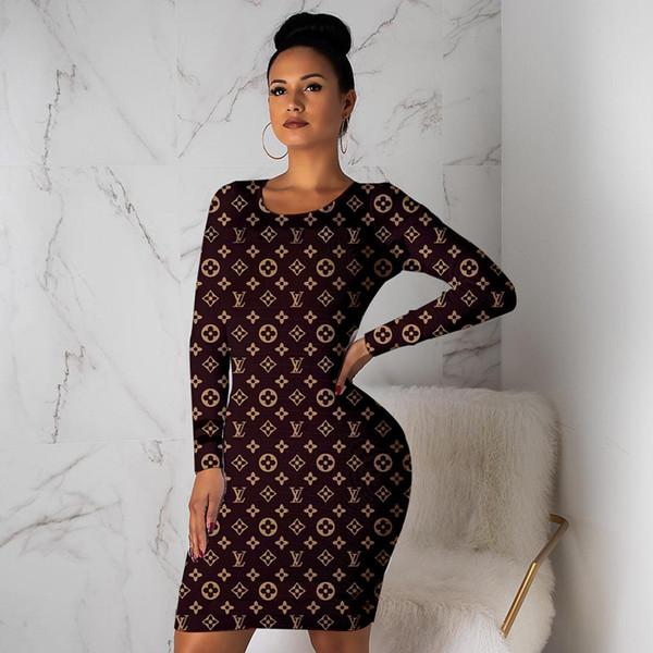 Женщины дизайнер бренда мини-платья элегантные старинные оболочки колонны пляжная одежда юбки с длинным рукавом праздничное вечернее платье осень-лето одежда 1064
