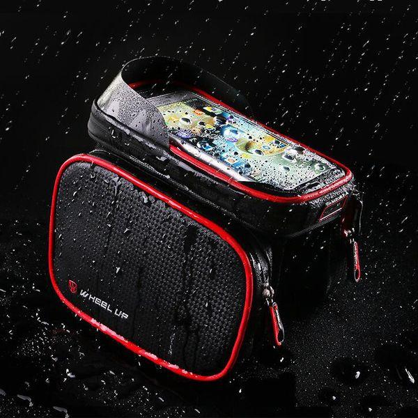 Wheel Up Universal Waterproof Phone Bag Celular Bike Phone Holder Support for iPhoneX7 6 GPS Bicycle velo Holder For Samsung S8