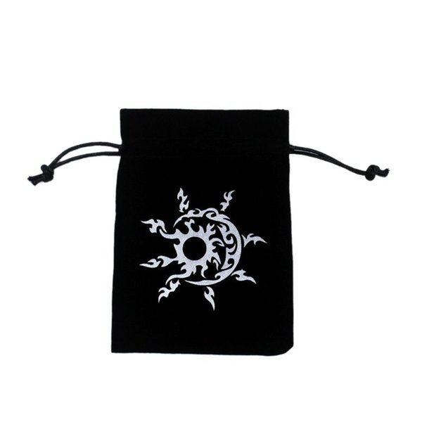 Sports & Entertainment New Tarots Storage Bag Velvet Playing Card Drawstring Package Board Game Dice Bag