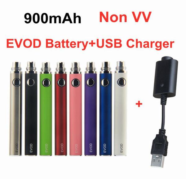 EVOD 900mAh Battery+USB Charger