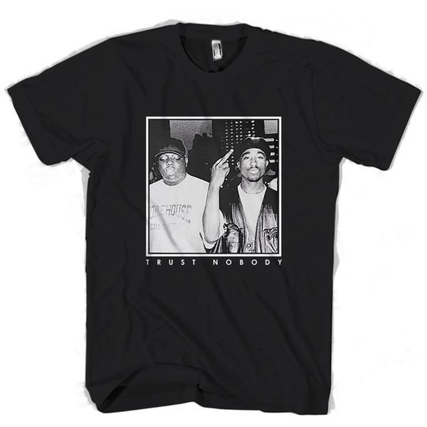 Trust Nobody Tupac Biggie Man / Woman T-Shirt jacket croatia leather tshirt Tees Custom Jersey t shirt