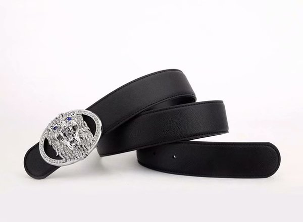 2019TOP Men belt womens high Quali9 Genuine Leather blath and whitrte color Designer Cowhide Belt For Mens Luxu Belt free shipping