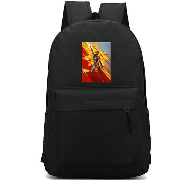 Captain Marvel backpack Carol Danvers school bag Super hero fans print daypack Leisure schoolbag Outdoor rucksack Sport day pack