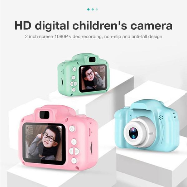 Mini Kids fotocamera giocattoli educativi per bambini digitali con scheda di memoria da 16 GB come baby regalo dei bambini