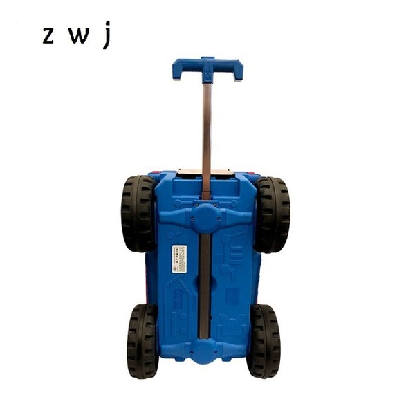 20 inch kids gift hardside luggage trolley small carry on suitcase for children