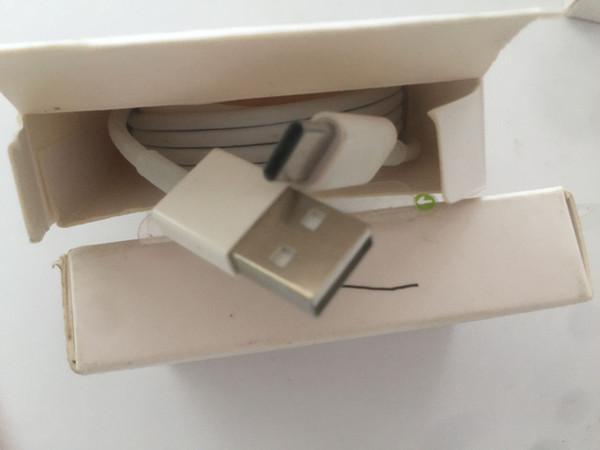 Mit Verkaufsverpackung Karton 1 m 3 ft 2 m 6 ft Datenladegerät USB-Kabel 144 Geflochtenes Webkabel für i5 6 7 8 x TYP-C B grüner Aufkleber