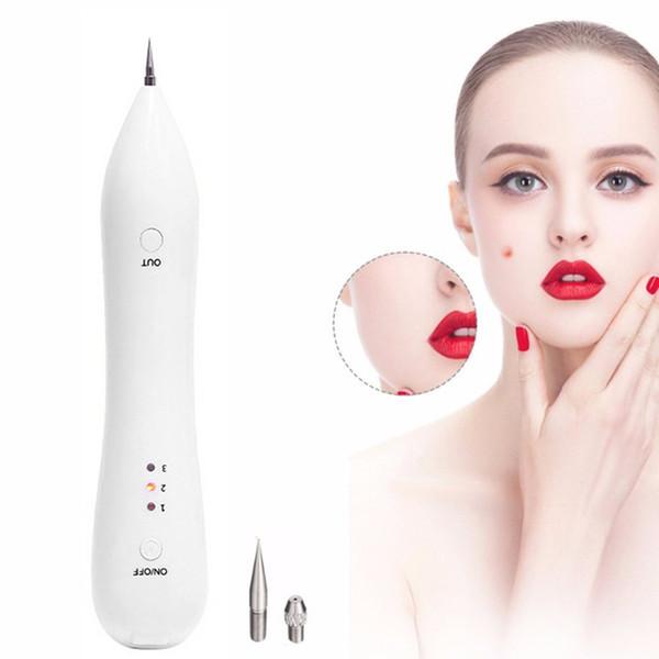 Laser Mole Removal Pen Eraser For Pimple Tatoo Black Spot Remover Microcurrent Beauty Machine Salon Face Care Derma Clean Tools