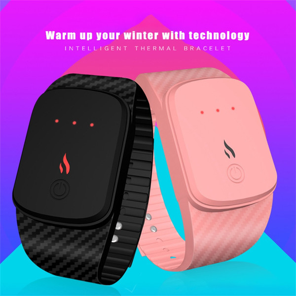 NEW Smartwatch Temperature Control Gear Smart Warm Bracelet Remote Camera Information Display Sports Pedometer