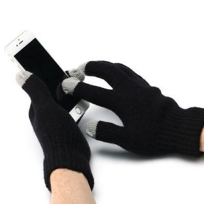 Neue USB Beheizte Elektrische Handschuhe Volle Finger Hand Touchscreen Knited Winter Warmer Handschuhe Geschenke 1 Para