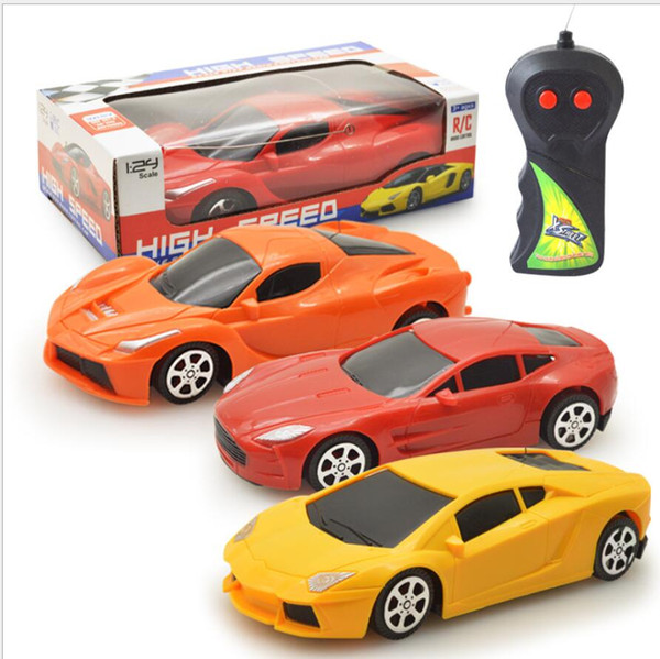 best selling Wholesale-2 Channels rc car wireless radio remote control cars electric toys for boys machine to remote control car model gift 11