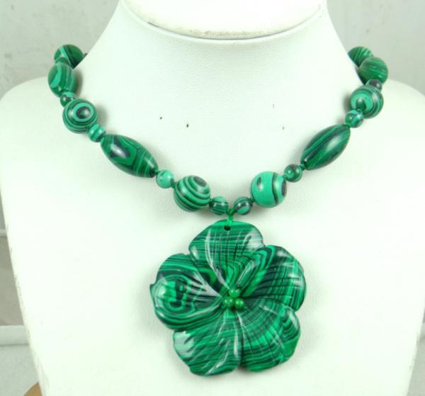 Fashion hot beautiful natural stone amethyst Jinsha lapis lazuli Powder crystal carved flower stone pendant gem necklace A6