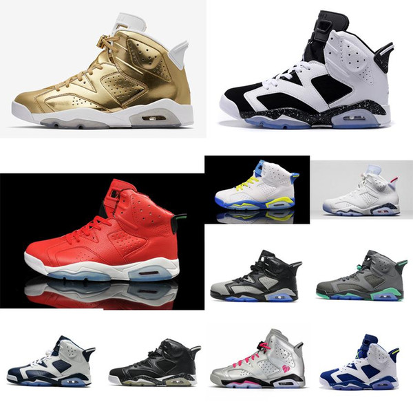 Cheap Men Jumpman 6 VI basketball shoes 6s Championship MVP Red Gold Grey Laney aj6 air flights sneakers boots j6 with original box for sale