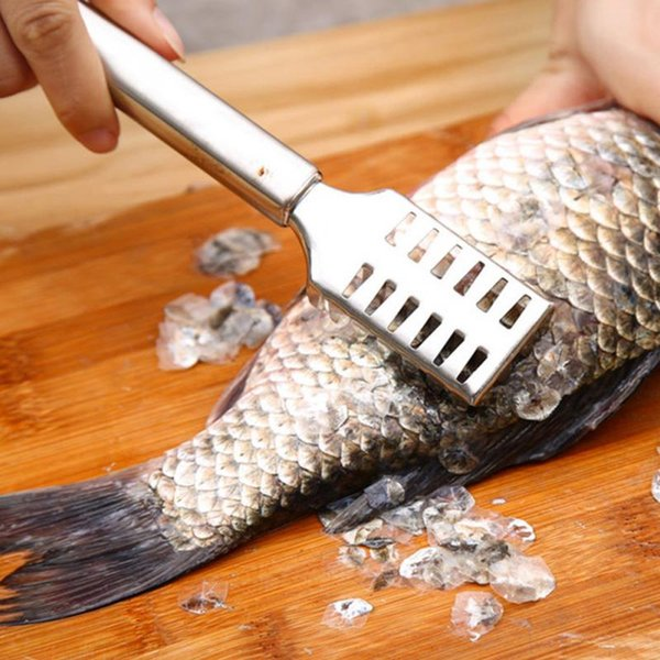 Fish Tools Fast Cleaning Fish Skin Plastic Fish Scales Brush Shaver Remover Cleaner Descaler Skinner Scaler Fishing Tools