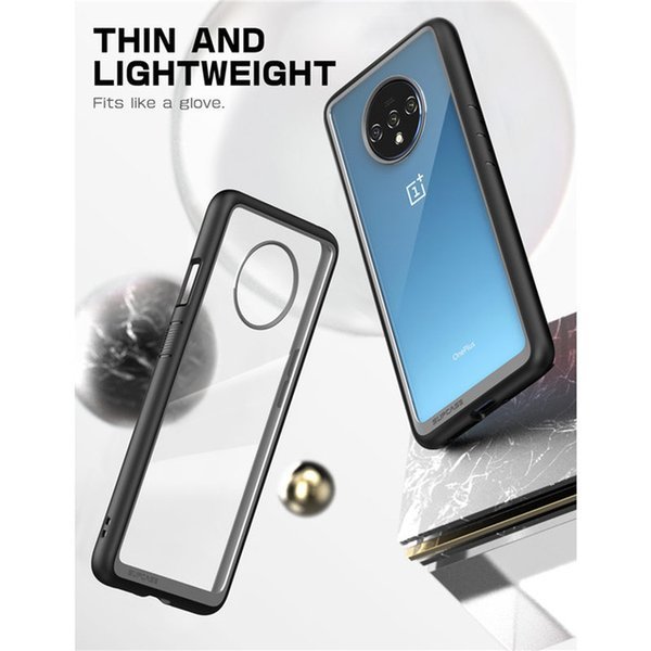 Cellphones & Telecommunications For One Plus 7T Case (2019) SUPCASE UB Style Anti-knock Premium Hybrid Protective TPU Bumper PC Cover