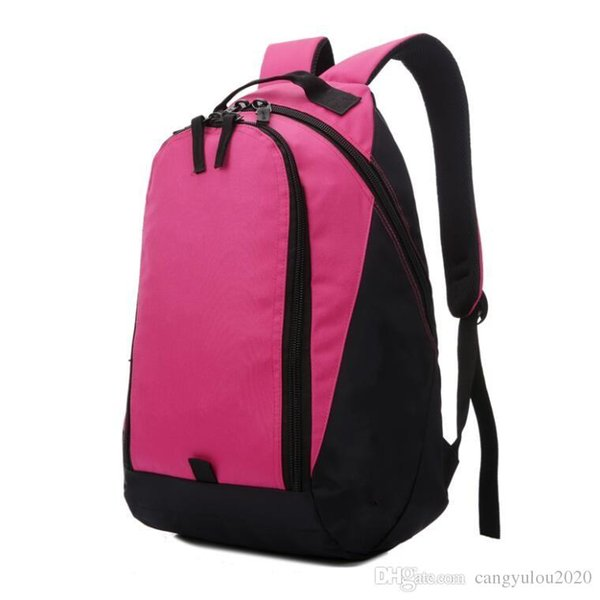 Top Selling Rose red Women Backpack Style for Men Designer Bags Student Boys girl Waterproof nylon Outdoor Travel Backpack with Logo 4 color