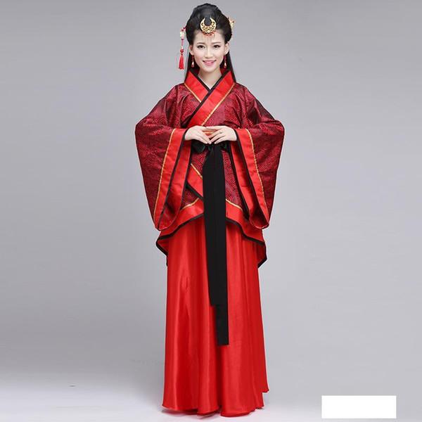 kadınlar için 2017 geleneksel kostüm Hanfu etnik ve orijinal çince antik Cosplay giyim
