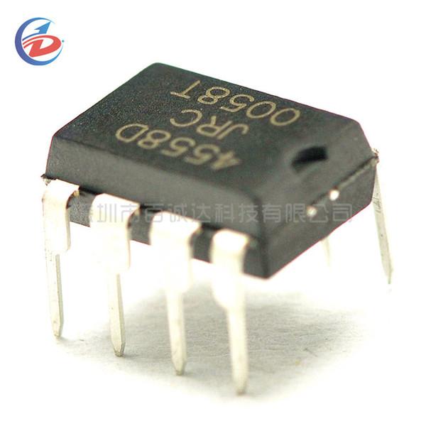 100PCS NJM4558D DIP8 NJM4558 DIP JRC4558D JRC4558 Dual operational amplifier New original