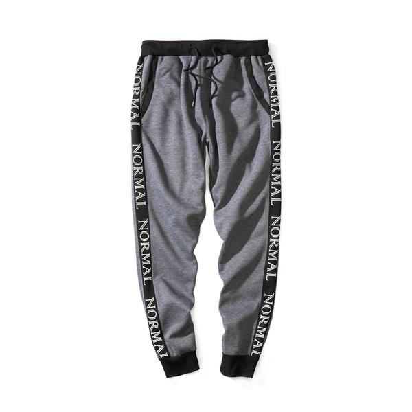 Erkek Tasarımcı koşucu Pantolon Skinny Koşucular Erkekler Yeni Moda Harem Pantolon Uzun Katı Renk Pantolon Erkekler Pantolon EUR Boyut