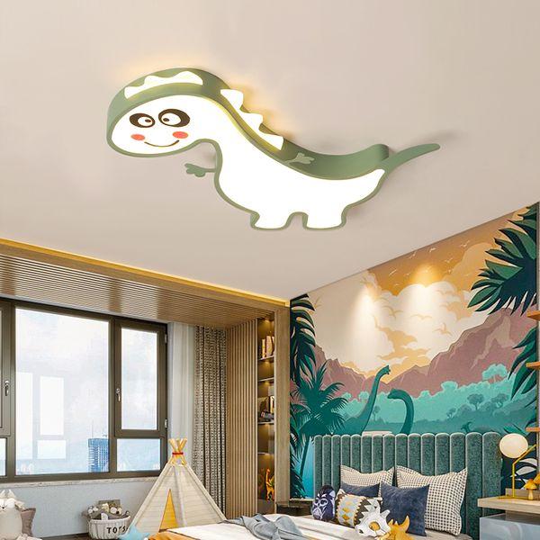 Moderna lampada da soffitto a LED in ferro battuto per bambini minimalista minimalista decorazione per la casa ragazzo ragazza stanza plafoniera in acrilico