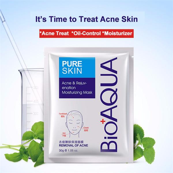 BIOAQUA Anti Acne Mask Facial Effective