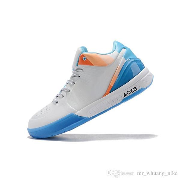 billige herren kobe 4 protro basketball schuhe neue retro zk4 lila schwarz mamba rot blau gelb kb4 lebron 16 turnschuhe tennis mit box größe 7 12