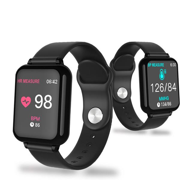 2019 новые смарт-часы мужчины ЭКГ частота сердечных сокращений Фитнес монитор вызова Bluetooth сенсорный экран смотреть женщин для Apple, Android телефон