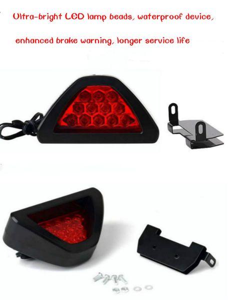 Luz de freno LED de alta potencia universal Advertencia de destello súper brillante Luz de la cola del coche del LED Impermeable larga vida