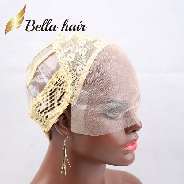 Yellow Blonde & Front Lace Cap