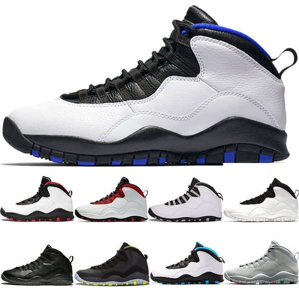 Nike Air Jordan 10 Retro Ovo, Chaussures de Sport Homme