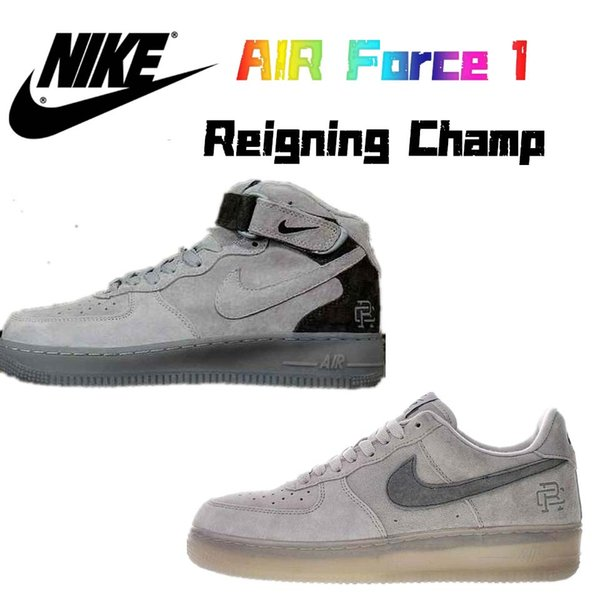 b066a70293 Compre CON LA CAJA 2019 Nike Air Force 1 Air Forcing 1Mid X Reigning ...