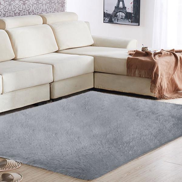 Shaggy Fluffy Rugs Area Tappeto Tappeto 160x80cm Multicolor Polyester Fiber Decorazione Living Room Sofa Floor