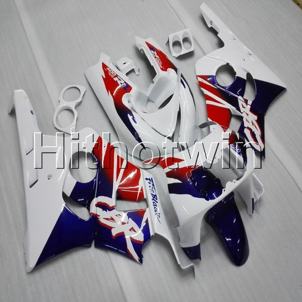23colors+Gifts red blue white motorcycle article for HONDA CBR400RR 1990-1994 NC29 90 94 ABS Plastic Fairing