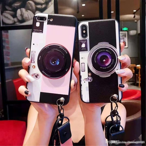 Бренд Vintage Camera Designer Чехол для iPhone XS Max XR X 8 7 6 Дизайн одежды