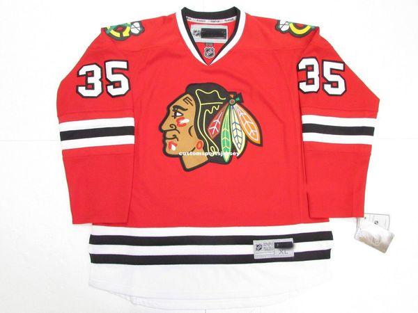 Cheap personalizzato TONY ESPOSITO CHICAGO BLACKHAWKS HOME HOCKEY JERSEY punto aggiungere qualsiasi numero qualsiasi nome Mens Hockey Jersey XS-5XL