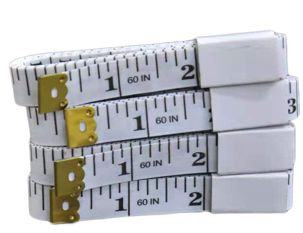 best selling Hot New Designer Portable Colorful Body Measuring Ruler Inch Sewing Tailor Tape Measure Soft Tool 1.5M Sewing Measuring Tape Christmas Gift