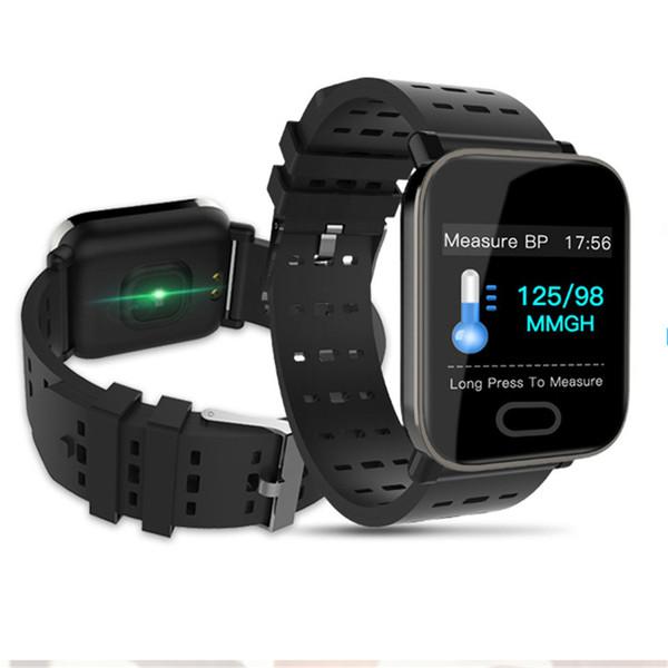 2019 Smart Watch Фитнес-Трекер Монитор Сердечного ритма Артериального Давления Smartwatch IP67 Водонепроницаемый Спортивные Наручные Часы PK Q8 A6