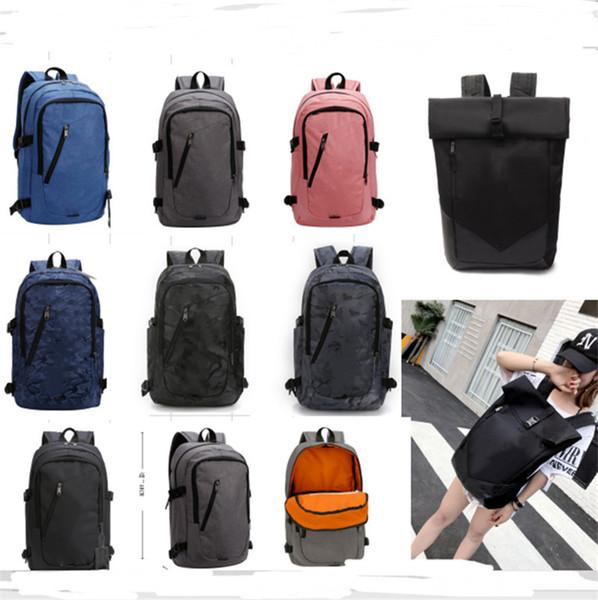 BRAND Unisex Laptop Designer Backpack Kids Students Women Mens U&A Shoulder Bag Large Capacity Oxford Cloth Travel Sports School Bag B71203