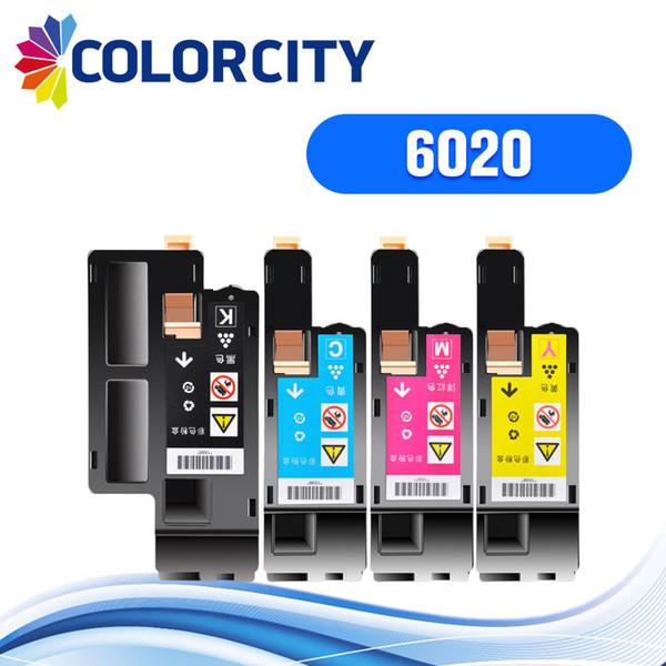 1 adet Phaser 6020 6022 Workcentre 6025 6027 için uyumlu toner kartuşu yazıcı 106R02760 106R02761 106R02762 106R02763